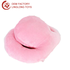 Manufacture Custom Pure Color Stuffed Sleeping Nap Pillow Octopus Shape Head Rest Cushion Pink Plush Travel Arm Rest Nap Pillow