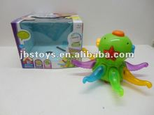 2012 hot selling B/O cartoon octopus with music and light/ B/O toys /Electric toys for kid