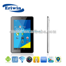 shenzhen supplier sim card tablet pc zx-md7003 support 3g wifi phobne call