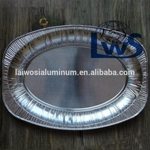 Disposable Oval Roasting Aluminum Foil Turkey Tray