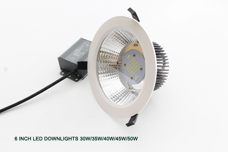 5 inch 6 inch 8 inch 4500lm down light Metal halide replacement medium round recessed downlight