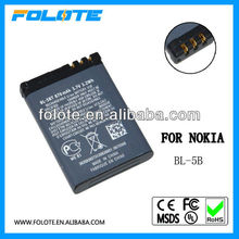 BL-5BT BL 5BT battery for Nokia 2608 cell phone