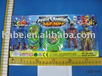 Superman with transmitter, plastic toys, cartoon character,game