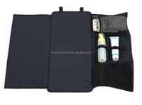Portable baby stroller diaper changing pad mat station travel kit bag