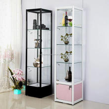 New Arrival glass display case with light