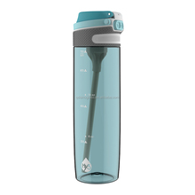 The FLIPTOP CS SPORT Hy3 out door BPA free body flip cap water bottle with drinking straw