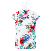 Wholesale Chinese baby girl cheongsam dress