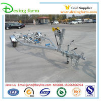 4800 hot dipped galvanized boat trailer with kit and parts