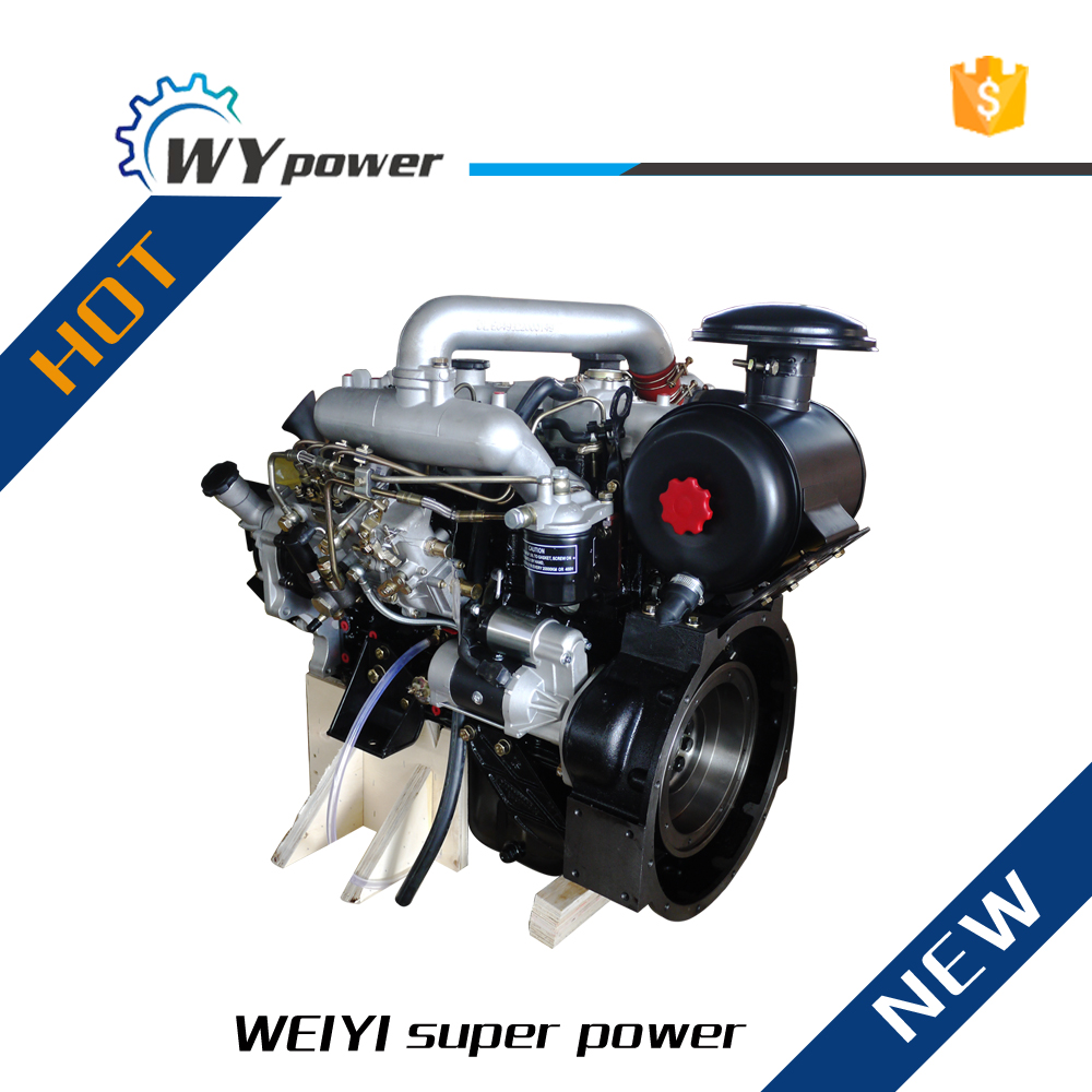 I-SUZU technology 36kw 4 cylinders small turbo diesel engine for sale