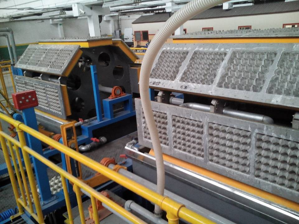waste paper recycling production machine in china