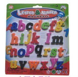 Top Sale!! Magnetic Alphabet Educational the batman toy