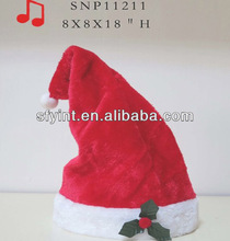 Electric dancing santa hat