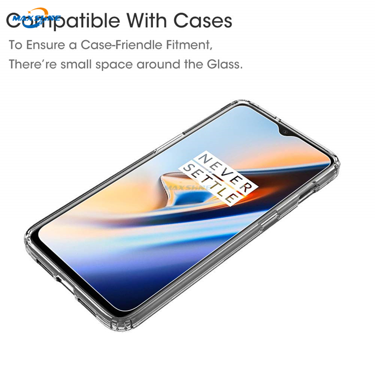 Maxshine Wholesale Mobile Accessoriestempered Glass Screen Protector Sheet For Oneplus 6T