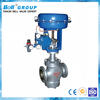 pneumatic carbon steel bellows 3 way control valve