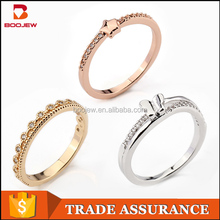 Meilong wholesale simple romantic pure silver rings beautiful finger one size fits all ring