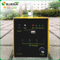 Bluesun solar powered portable generators with LED TV screen for home use