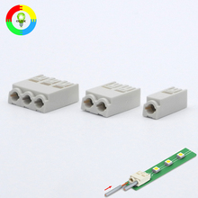 Wire to board quick connection 4mm led connectors