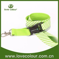 Merchandising polyester lanyard for promotion