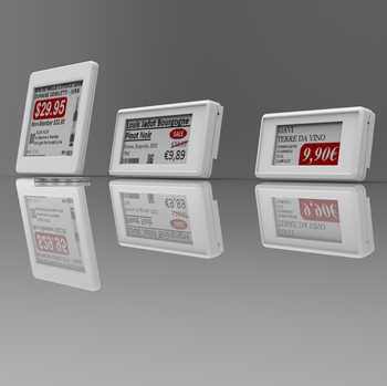 E-ink Display Price Tag for Smart Supermarket Solution Electronic Shelf Label