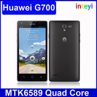 Original 3G HUAWEI G700 Mobile Phone MTK6589 Quad Core Android 4.2 5.0 Inch HD Screen RAM 2GB + ROM 8GB Support Dual SIM