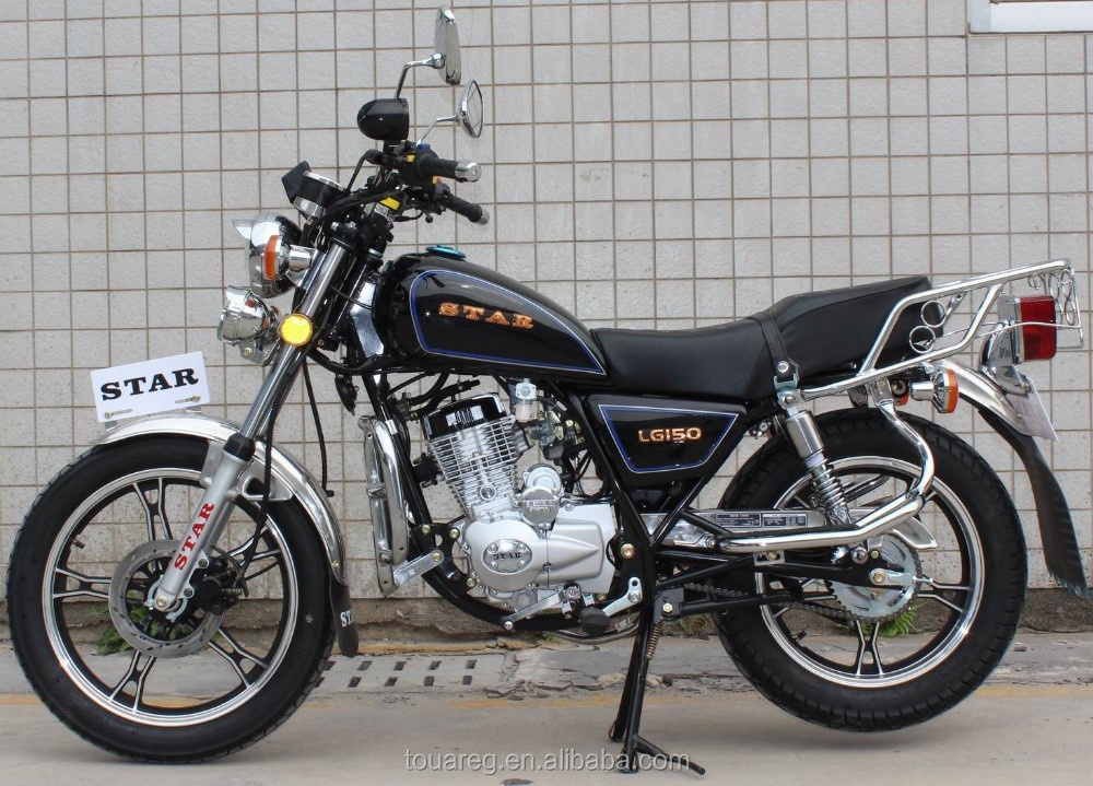 Economic GN49 GN125 GN150 motorcycle with MP3
