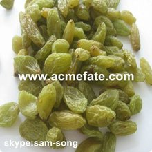 Big Size Sweet Green Raisin Hot Sale