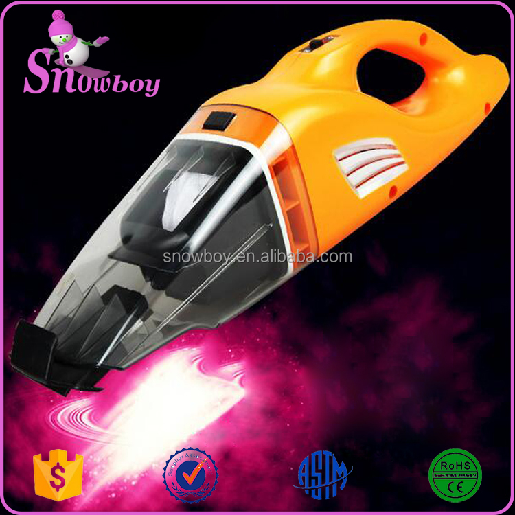 Handheld Mini Wet Dry Automotive Vacuum Cleaner 100W 12V Lightweight Portable Car Washer
