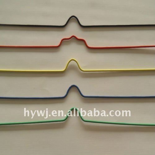 nylon coated binding hanger wire used together with wire o