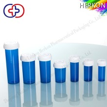 2016 Hot Selling Custom Plastic Medical Vials With Reversible Cap