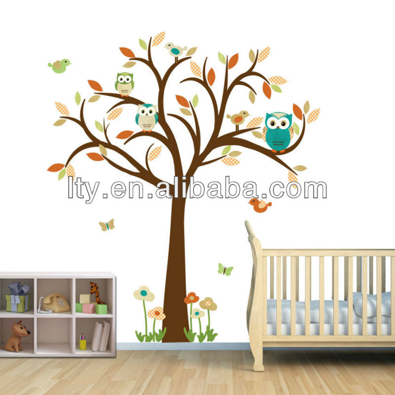 transparent wall stickers wholesale m a55 buy wholesale lovely tree wall sticker baby room kids wall