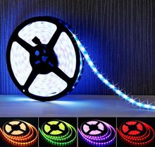 16.4 ft (5m) RGB LED Strip - Fleible 300 Leds Color Changing 500m/roll led strip light 220-240v