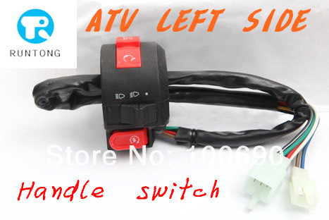 NEW - ATV KILL LIGHT START SWITCH 50cc 70cc 90cc 110cc 125cc Chinese Quad CT045