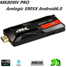 MK809IVPRO S905X Quad Core 1G 8Gdownload hindi video hd songs android tv box set top box
