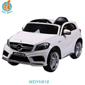 WDYH818 Official Authorized new power toy car for 2016, Mercedes Benz A45 amg baby play, with double door open power display