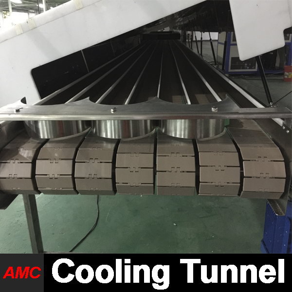 Quick Changeover And Cleaning Newest Process Technology Multifunction chocolate bar Cooling Tunnel For Production Line