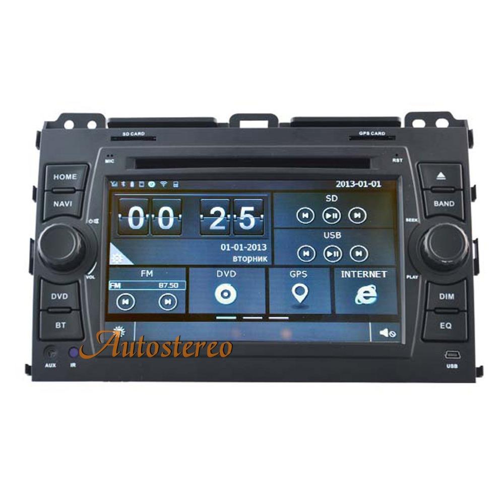 Gps Navigation System Product : Car multimedia gps navigation system for toyota prado