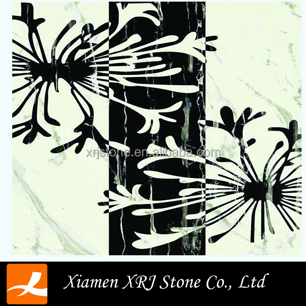 China nature polished marble water jet floor price tiles for decoration/wall/steps on sale