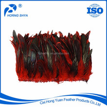 Wholesale Dyed Variou Colors 4-18inch Coque Tails Rooster Feather