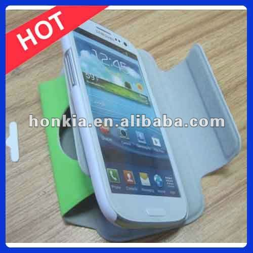 360 Rotating Leather Case for Samsung Galaxy S3 Rotation Case