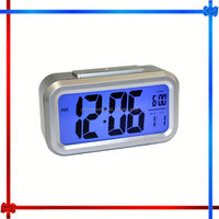 2014 HOT 097 multi-function talking projection alarm digital led projector clock