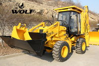 WZ30-25 mini wheel loader with backhoe attachment for sale