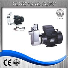 used textile industry construction site self-priming vertical water pump