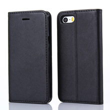 Classical Style Stand Magnetic Flip Leather Wallet Case For IPhone 6 7 8 X