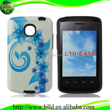 Printing PC TPU fundas para celular for LG Optimus L1II E410