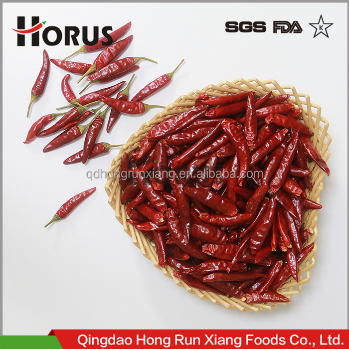 HACCP KOSHER HALAL FDA Dried Red Hot Chaotian Sanying TianYuTianYing TianjinChili chily Chiles pepper Jinta Puya Capsicum annuum