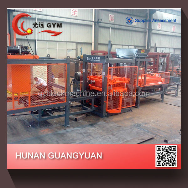 Full automatic interlocking brick machine/vibration table for concrete moulds