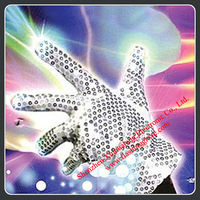 led dancing sequin flashing glove