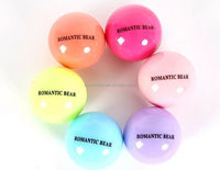 Best selling premium shea butter lip balm ball container with factory price