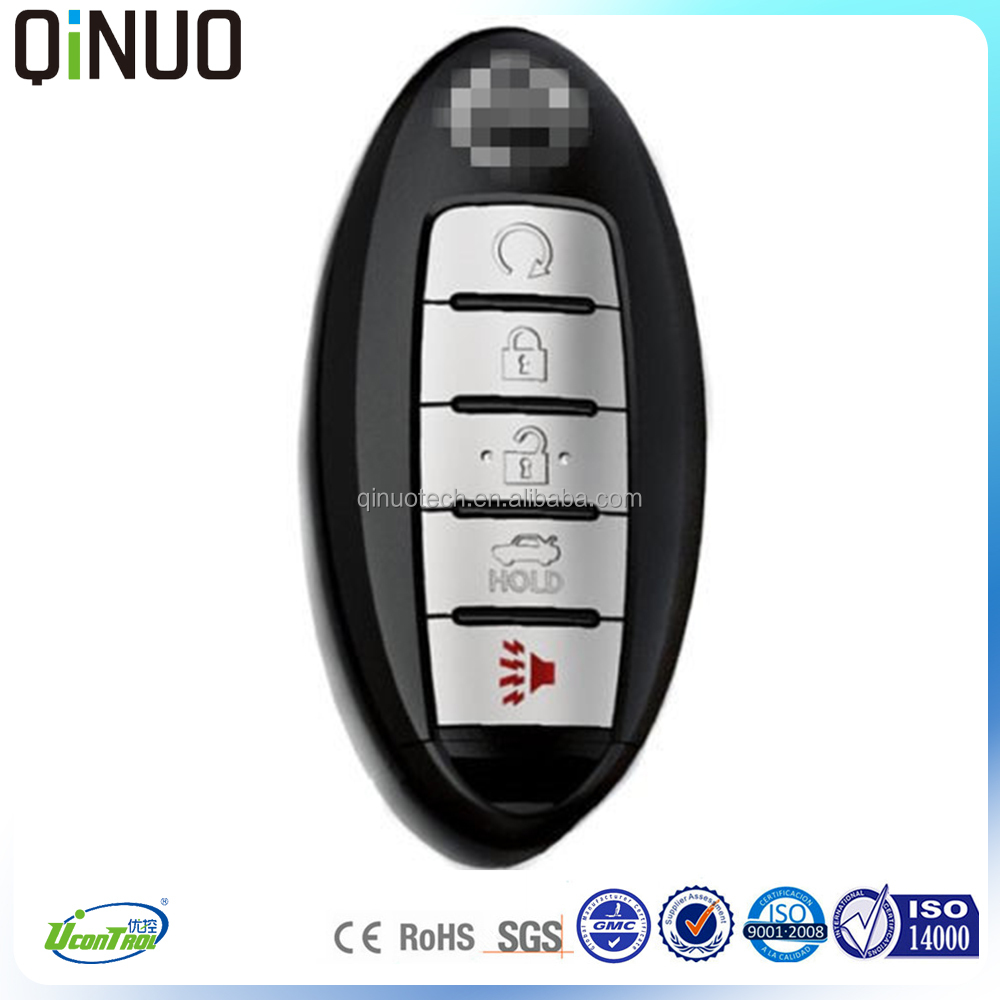 5 buttons 433MHZ frequency smart programming car master key for sale