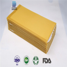 beeswax sheet/honey comb/bee wax foundation for beekeeping from Chinese factory for beekeeping